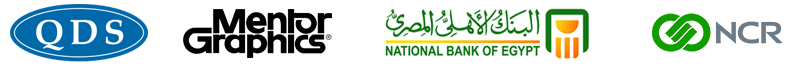 National Bank of Egypt and Mentor Graphics and QDS and NCR